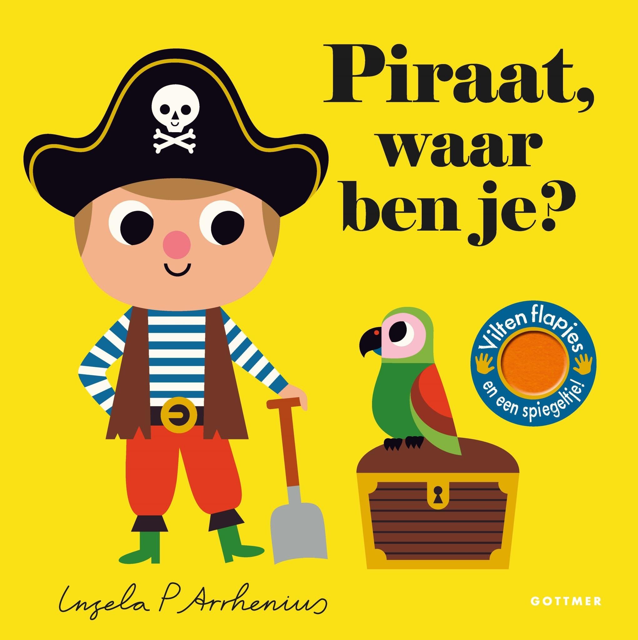 Boek - piraat, waar ben je?-1