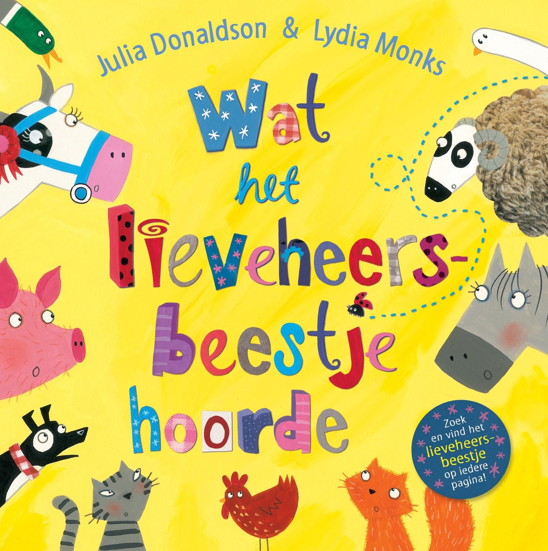 Boek - wat het lieveheersbeestje hoorde-1