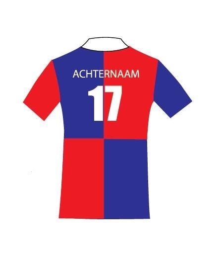 Rugnummer Groot Dubbel (10 >) MHC Amstelveen