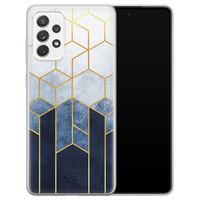 Telefoonhoesje Store Samsung Galaxy A72 siliconen hoesje - Geometrisch fade art