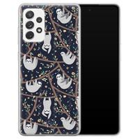 Telefoonhoesje Store Samsung Galaxy A72 siliconen hoesje - Luiaard