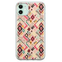 Telefoonhoesje Store iPhone 11 siliconen hoesje - Boho vibes