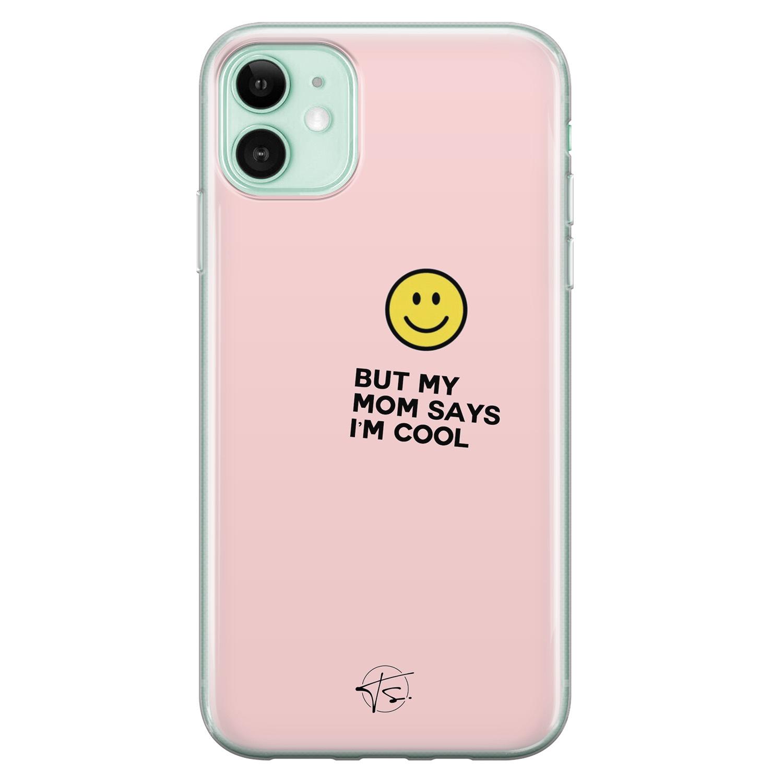 Telefoonhoesje Store iPhone 11 siliconen hoesje - I'm cool