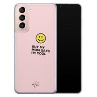 Telefoonhoesje Store Samsung Galaxy S21 siliconen hoesje - I'm cool