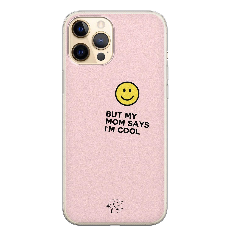 Telefoonhoesje Store iPhone 12 siliconen hoesje - I'm cool