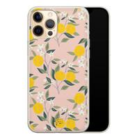 Telefoonhoesje Store iPhone 12 Pro siliconen hoesje - Citroenen