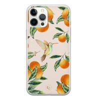 ELLECHIQ iPhone 12 Pro Max siliconen hoesje - Tropical Lemonade