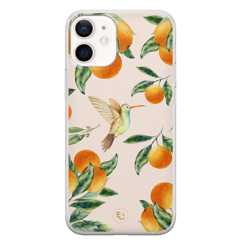 ELLECHIQ iPhone 12 mini siliconen hoesje - Tropical Lemonade