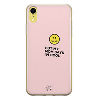 Telefoonhoesje Store iPhone XR siliconen hoesje - I'm cool