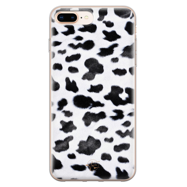 Telefoonhoesje Store iPhone 8 Plus/7 Plus siliconen hoesje - Koeienprint