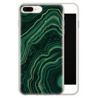 Telefoonhoesje Store iPhone 8 Plus/7 Plus siliconen hoesje - Agate groen