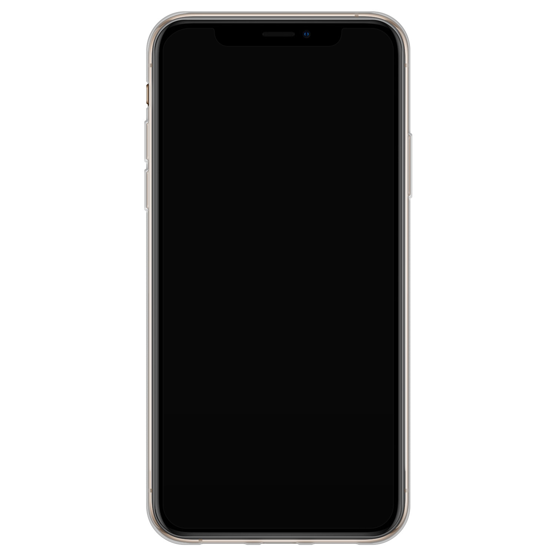 Telefoonhoesje Store iPhone XS Max siliconen hoesje - Flamingo
