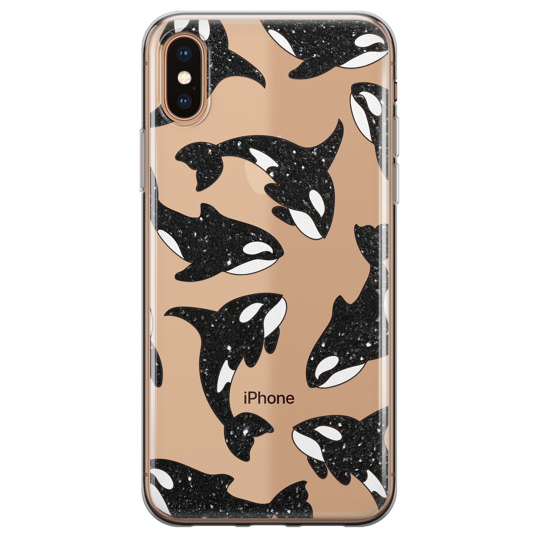 Telefoonhoesje Store iPhone XS Max siliconen hoesje - Orka