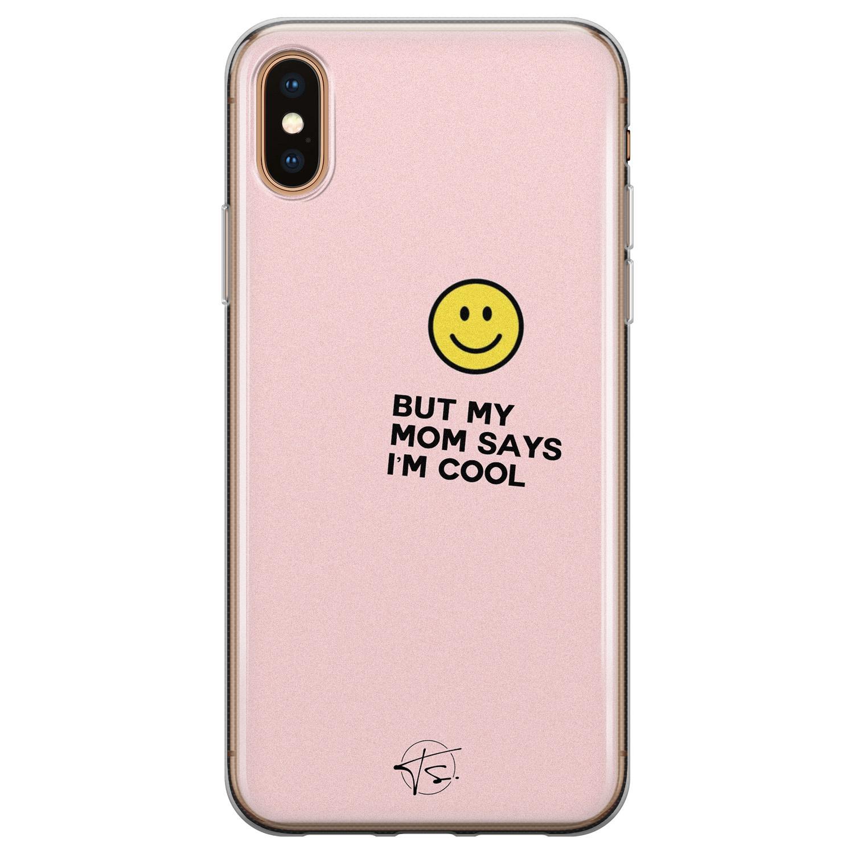 Telefoonhoesje Store iPhone XS Max siliconen hoesje - I'm cool