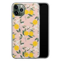 Telefoonhoesje Store iPhone 11 Pro siliconen hoesje - Citroenen
