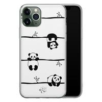 Telefoonhoesje Store iPhone 11 Pro siliconen hoesje - Panda