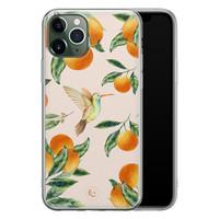 ELLECHIQ iPhone 11 Pro siliconen hoesje - Tropical Lemonade