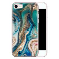 Telefoonhoesje Store iPhone 8/7 siliconen hoesje - Magic marble