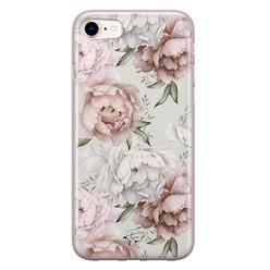 Telefoonhoesje Store iPhone 8/7 siliconen hoesje - Classy flowers