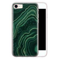Telefoonhoesje Store iPhone 8/7 siliconen hoesje - Agate groen