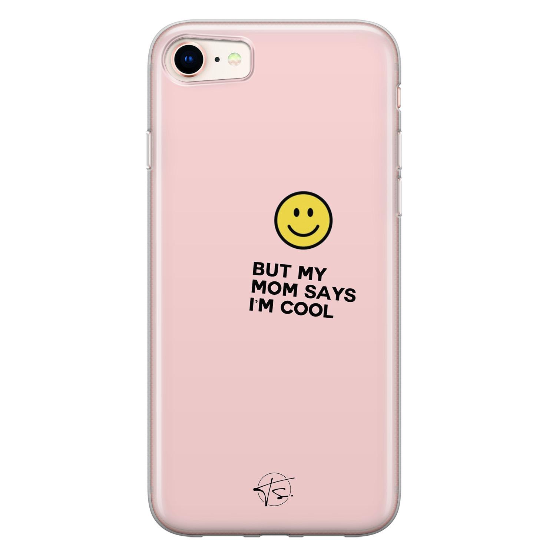 Telefoonhoesje Store iPhone 8/7 siliconen hoesje - I'm cool