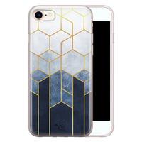 Telefoonhoesje Store iPhone SE 2020 siliconen hoesje - Geometrisch fade art