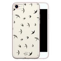 Telefoonhoesje Store iPhone SE 2020 siliconen hoesje - Freedom birds