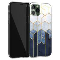 Telefoonhoesje Store iPhone 11 Pro siliconen hoesje - Geometrisch fade art