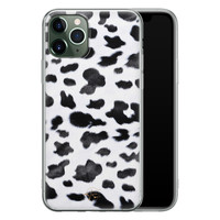 Telefoonhoesje Store iPhone 11 Pro Max siliconen hoesje - Koeienprint
