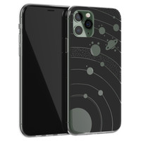 Telefoonhoesje Store iPhone 11 Pro Max siliconen hoesje - Universe space