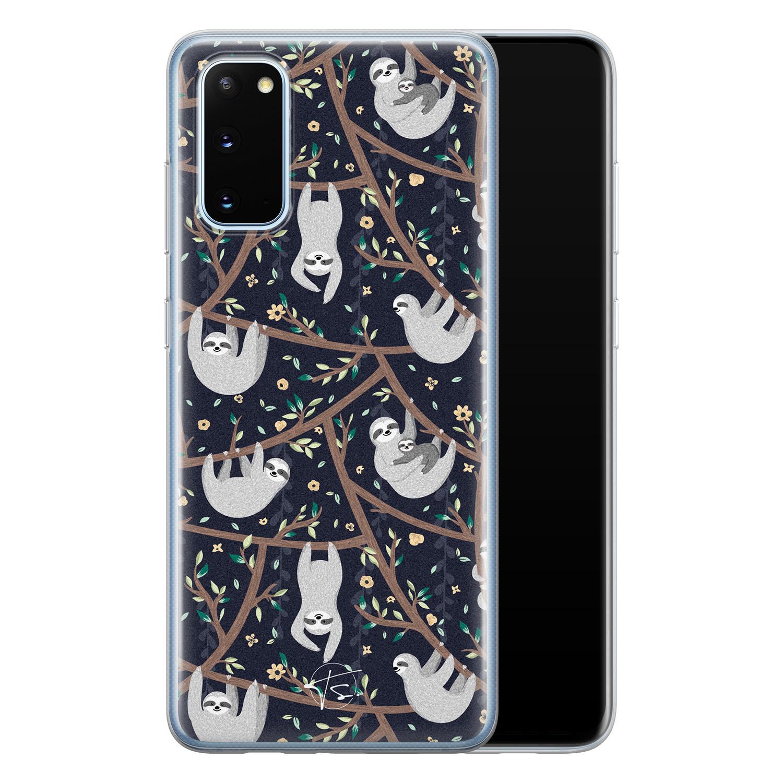 Telefoonhoesje Store Samsung Galaxy S20 siliconen hoesje - Luiaard