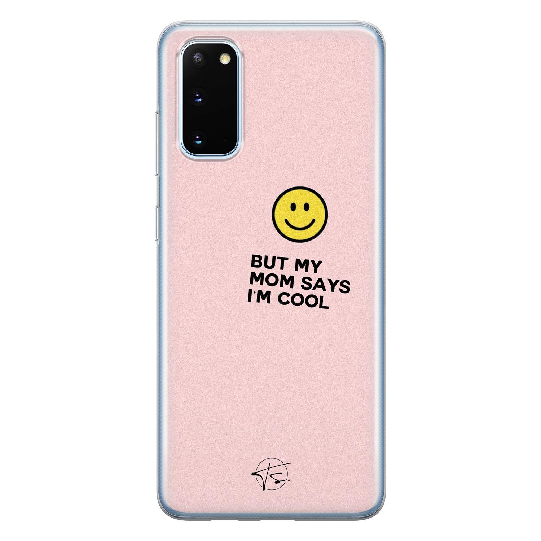 Telefoonhoesje Store Samsung Galaxy S20 siliconen hoesje - I'm cool