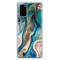 Telefoonhoesje Store Samsung Galaxy S20 Plus siliconen hoesje - Magic marble