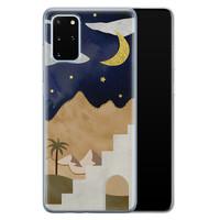 Leuke Telefoonhoesjes Samsung Galaxy S20 Plus siliconen hoesje - Desert night