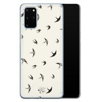 Telefoonhoesje Store Samsung Galaxy S20 Plus siliconen hoesje - Freedom birds