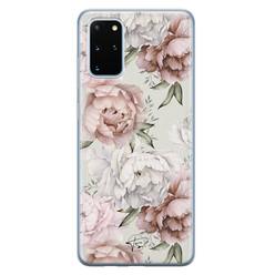 Telefoonhoesje Store Samsung Galaxy S20 Plus siliconen hoesje - Classy flowers