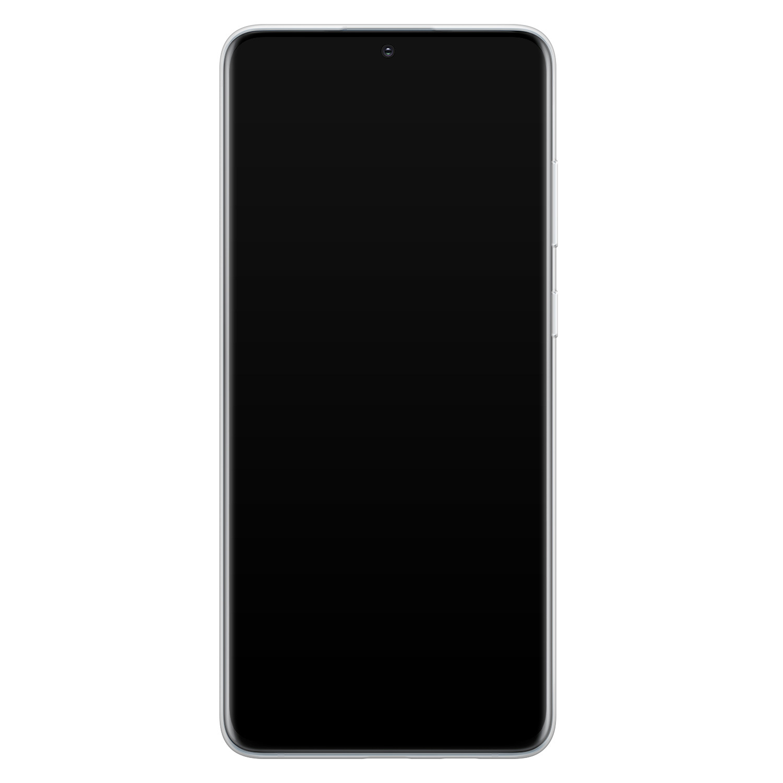 Casimoda Samsung Galaxy S20 Plus siliconen hoesje - Marmer goud