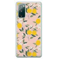 Telefoonhoesje Store Samsung Galaxy S20 FE siliconen hoesje - Citroenen