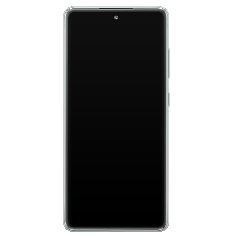 Leuke Telefoonhoesjes Samsung Galaxy S20 FE siliconen hoesje - Desert night