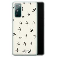 Telefoonhoesje Store Samsung Galaxy S20 FE siliconen hoesje - Freedom birds