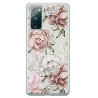 Telefoonhoesje Store Samsung Galaxy S20 FE siliconen hoesje - Classy flowers