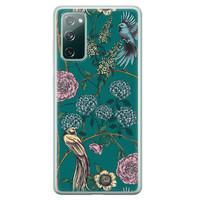 Telefoonhoesje Store Samsung Galaxy S20 FE siliconen hoesje - Bloomy birds