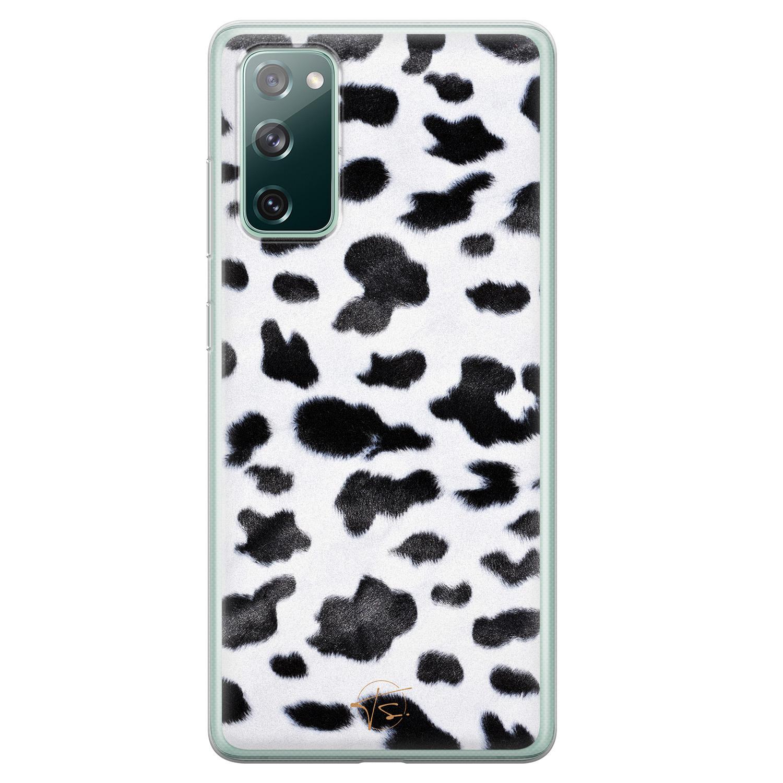 Telefoonhoesje Store Samsung Galaxy S20 FE siliconen hoesje - Koeienprint