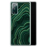 Telefoonhoesje Store Samsung Galaxy S20 FE siliconen hoesje - Agate groen