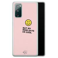 Telefoonhoesje Store Samsung Galaxy S20 FE siliconen hoesje - I'm cool