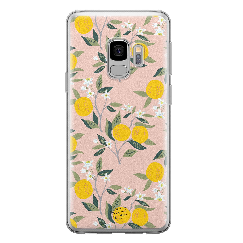 Telefoonhoesje Store Samsung Galaxy S9 siliconen hoesje - Citroenen