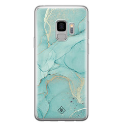 Casimoda Samsung Galaxy S9 siliconen hoesje - Touch of mint