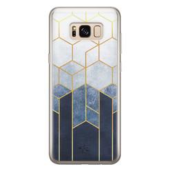 Telefoonhoesje Store Samsung Galaxy S8 siliconen hoesje - Geometrisch fade art
