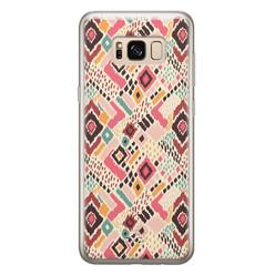 Telefoonhoesje Store Samsung Galaxy S8 siliconen hoesje - Boho vibes