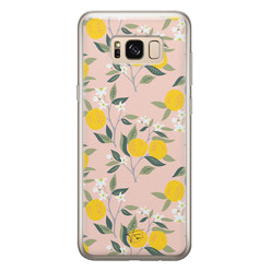 Telefoonhoesje Store Samsung Galaxy S8 siliconen hoesje - Citroenen